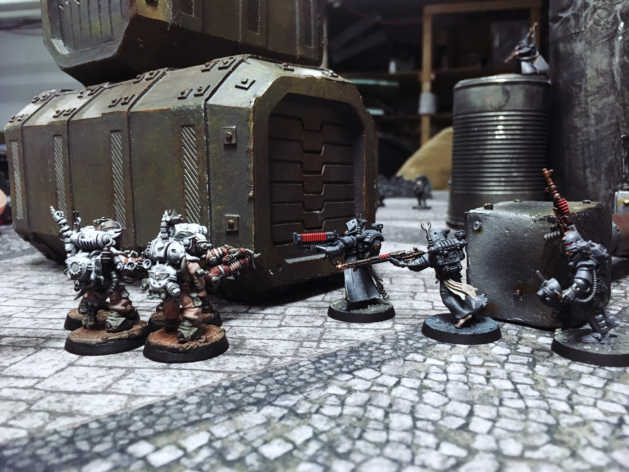 Anthrodact 1 Skitarii Vs Guard
