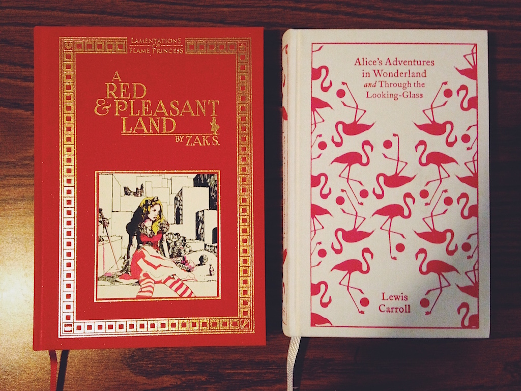 Red and Pleasant Land vs. Alice's Adventures in Wonderland