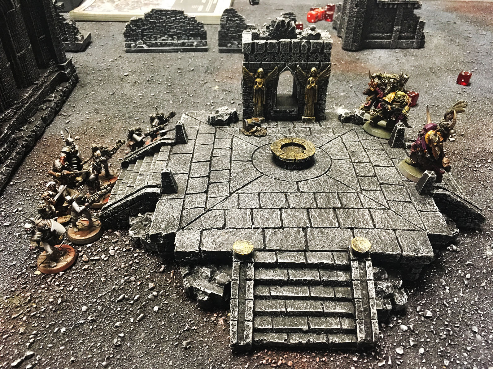 Play Report 3 Guard Vs Plague Marines