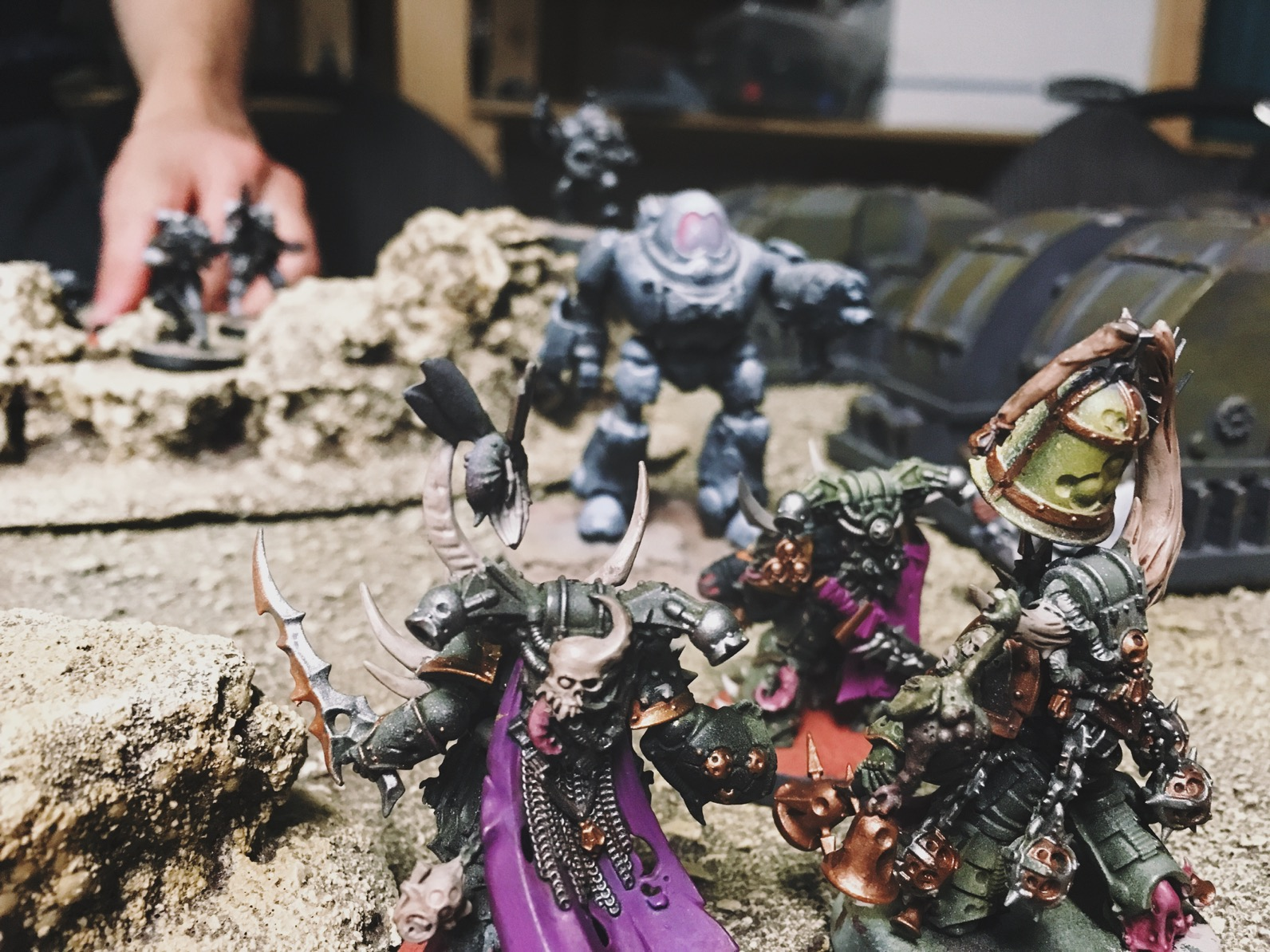 Play Report 4 Death Guard Face Their Foes