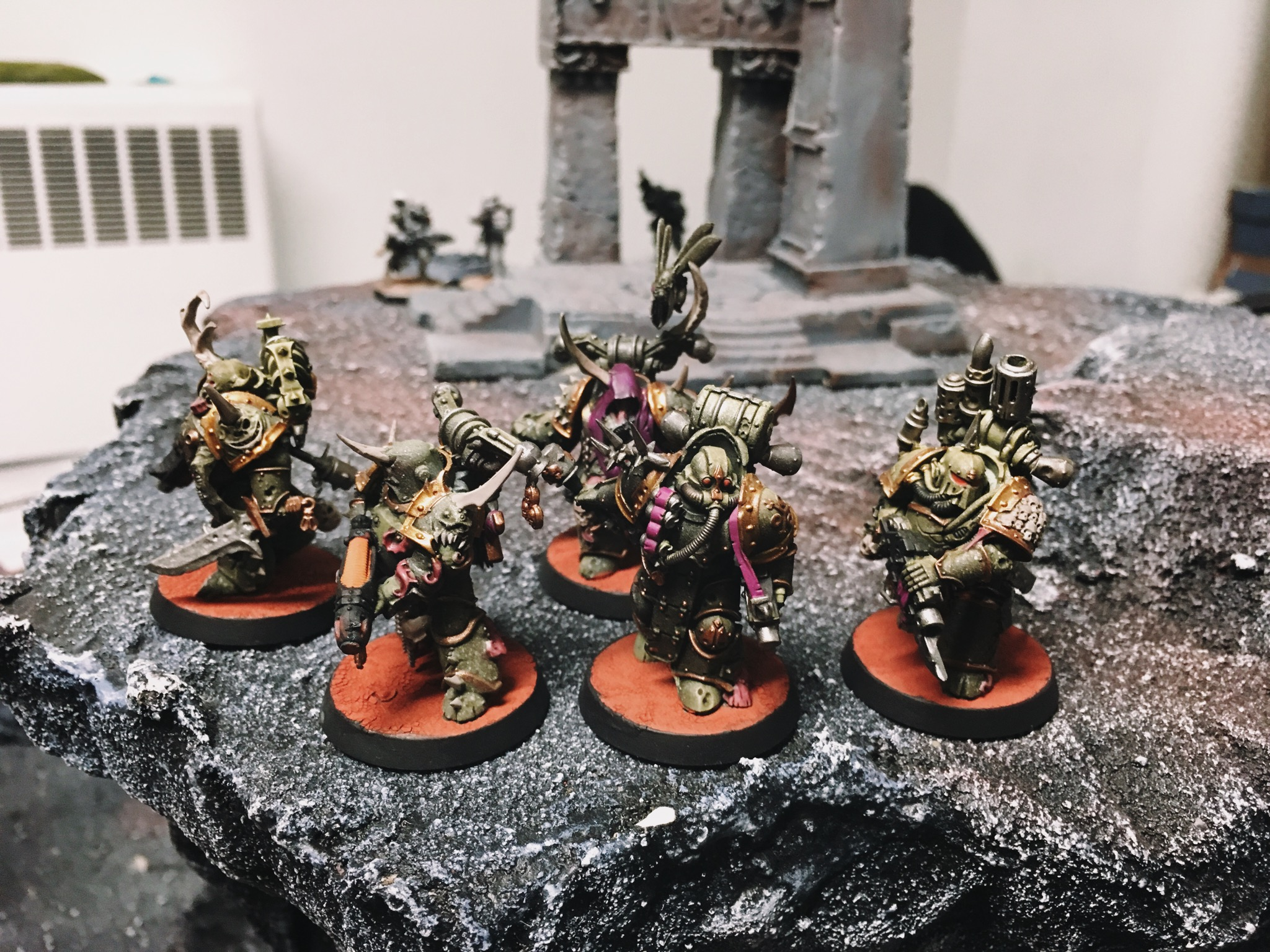 Play Report 5 Plague Marines